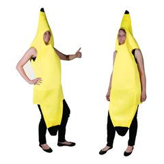 Adults Banana Costume, OOTB OT63/2616, 1 piece