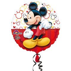 Mickey Mouse Portrait Standard Foil Balloon, Amscan 3064501