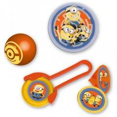 Set party Minioni, 24 buc. (disc zburator, minge, titirez, puzzle pinball), Amscan 997984
