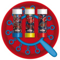 Spider-Man Frisbee & Giant Bubbles Party Game, Dulcop 112000, 1 piece