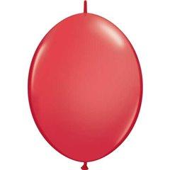 Balon Cony Red, 6 inch (15 cm), Qualatex 90173, Set 50 buc