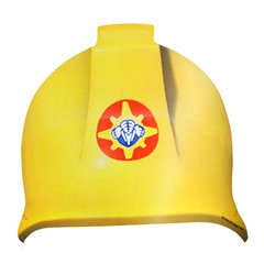 Fireman Sam Card Hats, Amscan 998158, Pack of 8 pieces