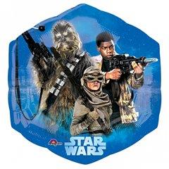 Star Wars The Force Awakens SuperShape Foil Balloon- 53x58cm, Amscan 3162401