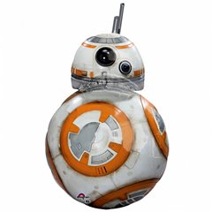 Star Wars The Force Awakens BB8 SuperShape Foil Balloons - 50x83cm, Amscan 3162101