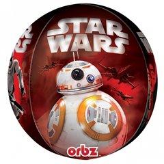 Balon Folie Orbz Sfera Star Wars The Force Awakens - 38x40 cm, Amscan 3266201