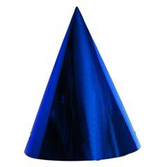 Coifuri de petrecere 20cm albastru metalizat - Adulti, Radar SMFIT.C20.ALBASTRU