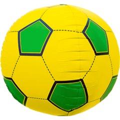 Balon folie orbz sfera minge de fotbal Brazilia- 43cm, Northstar Balloons 01189