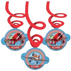 Decor serpentine Disney Planes 14 cm, Riethmuller, 996871, 6 buc