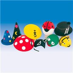 Felt hats for kids assorted, Amscan 7741, 1 piece