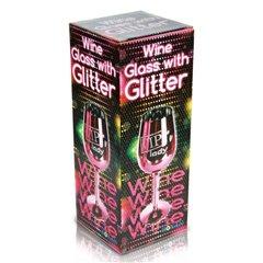 "Petrecerea burlacitelor - Pahar de vin roz ""Vip Lady"" - 24 cm, Radar 750029"