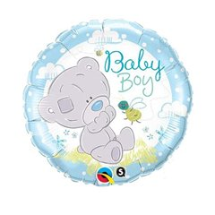 "Baby Boy -  Me to You Foil Balloon - 18""/45cm, Qualatex 28172"