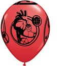 """Avengers Assemble Latex Balloons - 12""""/30.5cm, Qualatex 19332, Pack of 6pieces"""