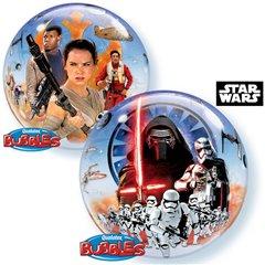 "Star Wars Bubble Balloon - 22""/56cm, Qualatex 21317"