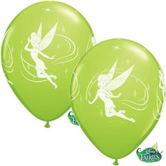 12'' Tinker Bell Latex Balloons, Qualatex 19239, Pack of 6pieces