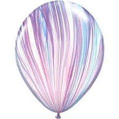 Fashion SuperAgate Latex Balloon, 11 inch (28 cm), Qualatex 39923, Pack of 25 pieces