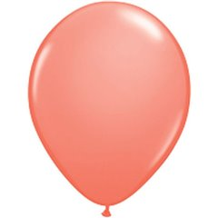 "Coral Latex Balloons - 5""/13m, Qualatex 24258, Pack of 100 pieces"