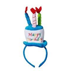 Plush head band - Party cake, Happy Birthday, Radar OT181060