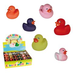 Mini Squeaking Color Changing Duck - 6cm, Radar OT20/1053