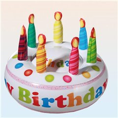 Tort Gonflabil Happy Birthday - 27cm, Radar OT91/4137