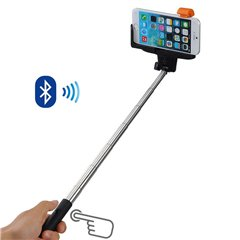 Selfie stick cu declansator prin Bluetooth - 1.17m, Radar OT61/1887