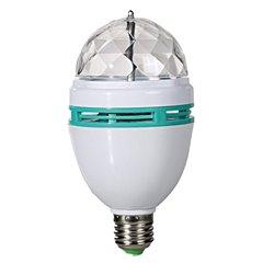 Bec rotativ disco multicolor cu LED, Radar 57/1295