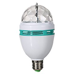 Bec rotativ disco multicolor cu LED, Radar OT57/1295