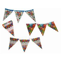 Flag banner Party Fun - 3.6 m, Radar OT62/0930