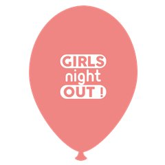 Baloane latex somon pentru burlacite - Girls Night Out, Radar GI.GNO.SOMON