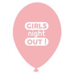 Girls Night Out Printed Latex Balloons, Radar GI.GNO.PINK
