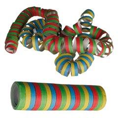 Serpentine multicolore pentru decor petreceri - 4m, Radar OT62/0970, Set 3 buc