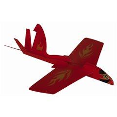 Avion din plastic cu efect de bumerang - 22x21cm, Radar OT61/1904