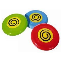 Jucarie Frisbee din plastic - 15cm, diverse modele, Radar OT59/2094