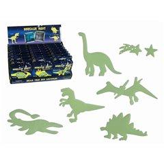 Dinosaurs -glow in the dark, Radar OT90/1052, Pack of 24pieces