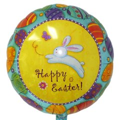 "Happy Easter Foil Balloon - 18""/45cm, Amscan 12063"