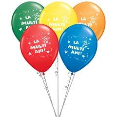 La multi ani! assorted Latex balloons bouquet, Radar BB.GI.LMA.T2