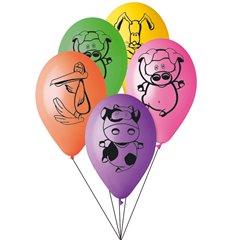 Buchet din baloane latex asortate Dolly Farm, Radar BB.G301854