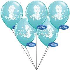 Buchet din baloane latex asortate Frozen cu heliu, Radar BB.Q19226
