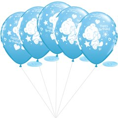 Me to You Pale Blue Latex balloons bouquet, Qualatex BB.Q12563