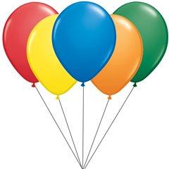 26cm assorted Latex balloons bouquet, Radar BB.STD.ASS