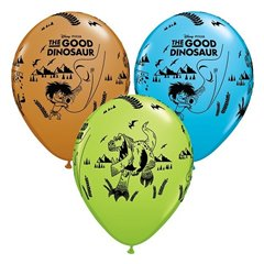 "Baloane latex 11"" The Good Dinosaur, Qualatex 28175, Set 25 buc"