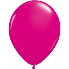 "5"" Wild Berry Latex Balloons, Qualatex 25571, Pack of 100 pieces"