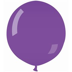 Purple Jumbo Latex Balloons - 48cm, Violet 08, Gemar G150.08