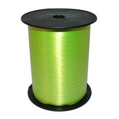 Lime Green Curling Ribbon 5mm x 500m, Radar 37918, 1 Roll