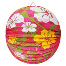 Paper Lantern with Hibiscus - 25cm, Amscan RM150480
