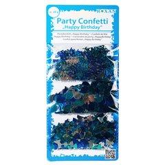Blue/silver coloured party confetti, Radar OT181044