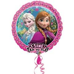 Balon folie muzicala Frozen - 71cm, Amscan 30324