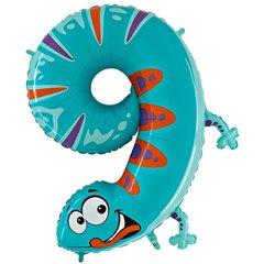 Balon folie figurina cifra noua-soparla - 102cm, Radar GB49-0W