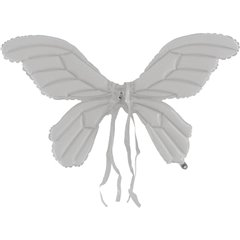 Butterfly White Wings Supershape Foil Balloon - 66 cm, Radar GBDB01W