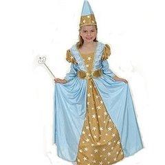 Costum Printesa pentru fetite (7-10 ani) - 128cm, Radar GD087088