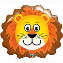 """29"""" Shape Foil Lovable Lion, Qualatex 16154"""